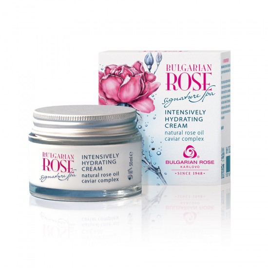 Intensively Hydrating face cream Bulgarian Rose Signature Spa