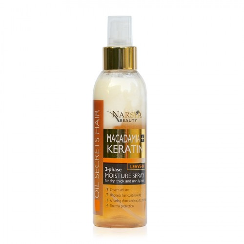 Macadamia & Keratin 2-Phase Leave-in Moisture Spray