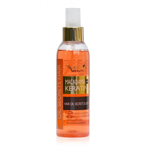 Macadamia & Keratin Hair Oil Secrets Elixir