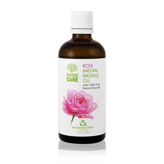 Natural Massage oil Rose 100 ml