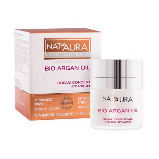 Cream concentrate Eye and Lips Nataura Diamonds 45+ Reverse time
