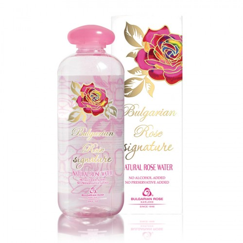 Natural Rose water 500ml Bulgarian Rose Signature