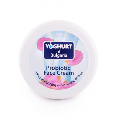 Probiotic face cream Yoghurt of Bulgaria with Organic Rose oil