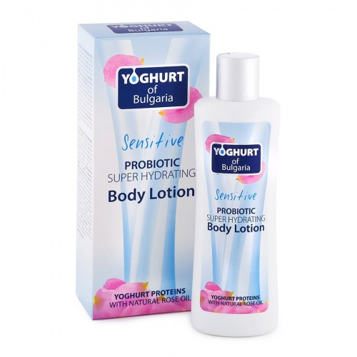 Probiotic super Hydrating Body lotion Yoghurt of Bulgaria
