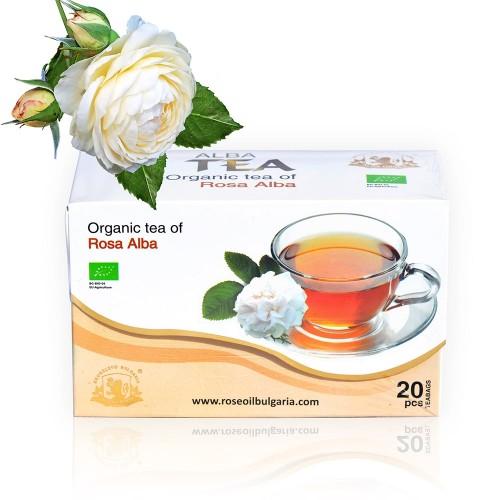 Organic Rosa Alba Tea