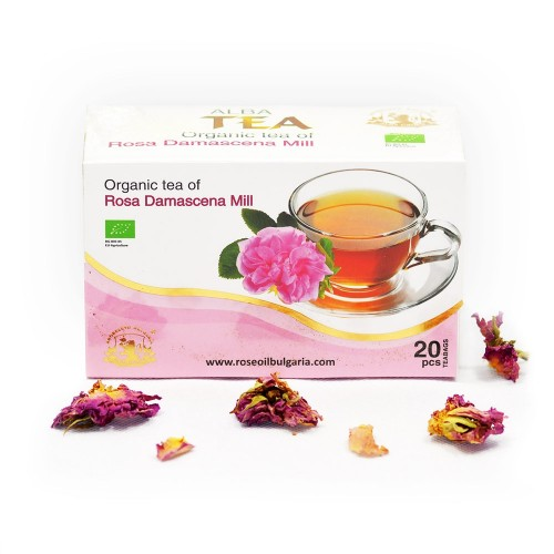 Organic Rosa Damascena Tea