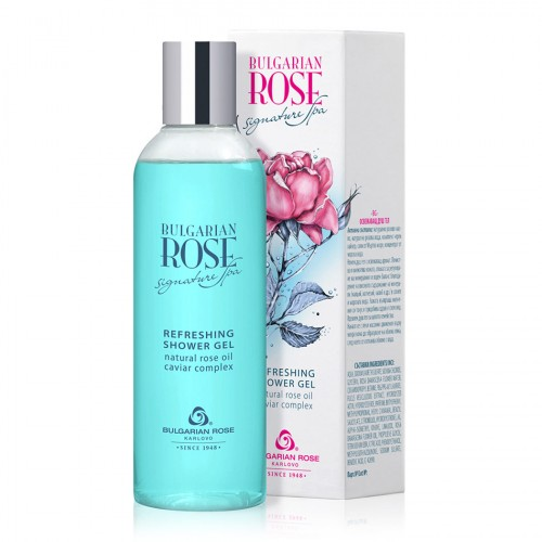 Refreshing Shower gel Bulgarian Rose Signature Spa