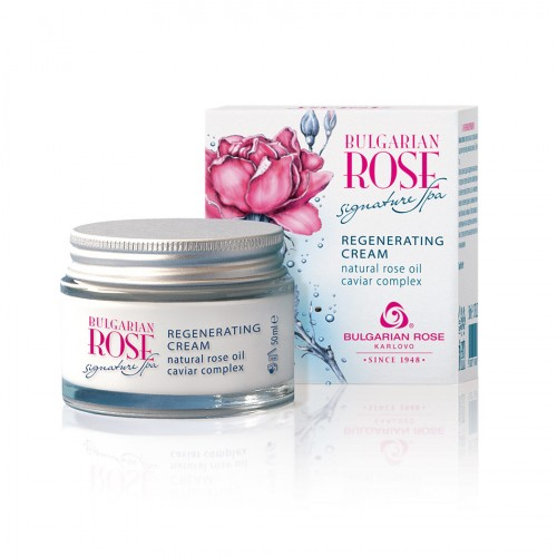 Regenerating face cream Bulgarian Rose Signature Spa