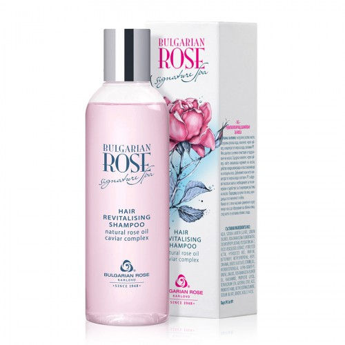 Revitalising hair Shampoo Bulgarian Rose Signature Spa