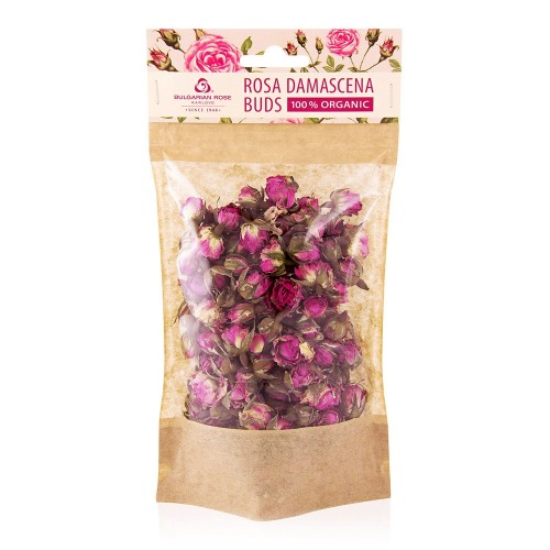 Rosa Damascena Buds 100% Organic