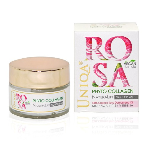 Rosa Uniqa & Phyto Collagen Night Cream Vegan Formula