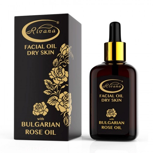 Facial Rose oil for Dry skin 100% natural 30 ml