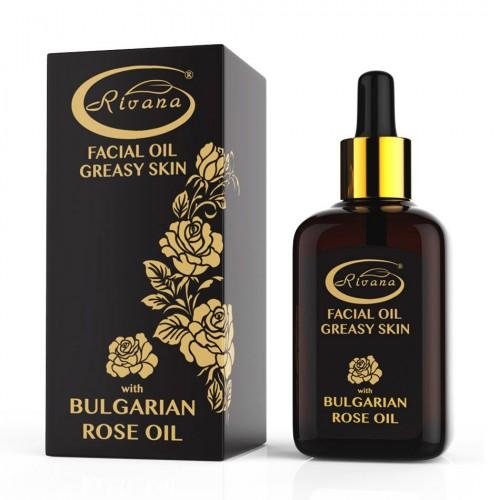 Facial Rose oil for Oily skin 100% natural 30 ml