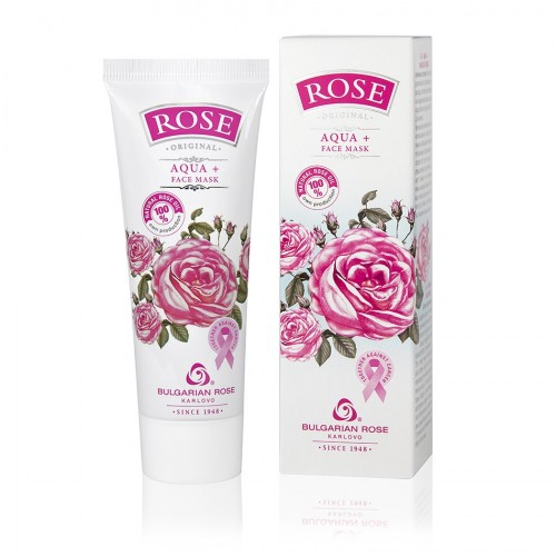 Aqua+ Hydrating Face mask Rose Original