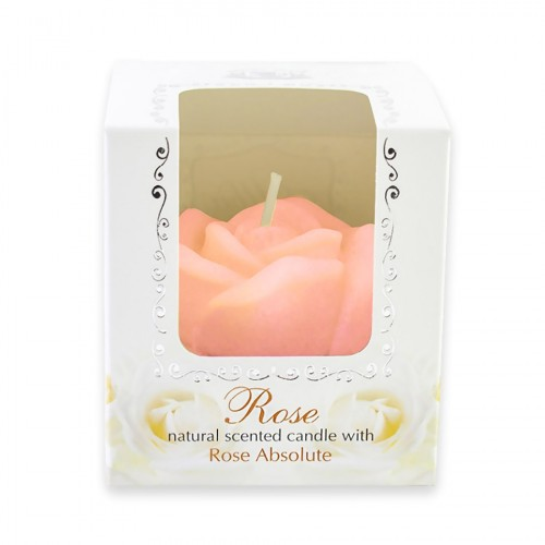 Natural scented Candle with Rose absolute 165 gr.