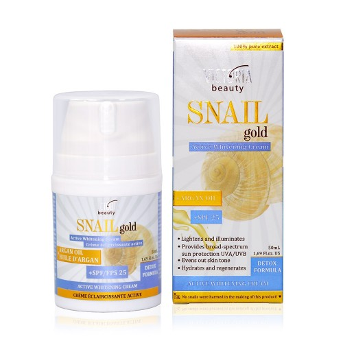 Snail Gold Active Whitening Cream SPF 25