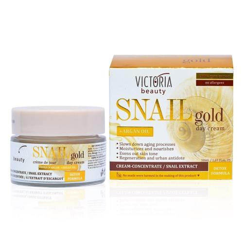 Snail Gold Day Cream with Snail extract & Argan oil