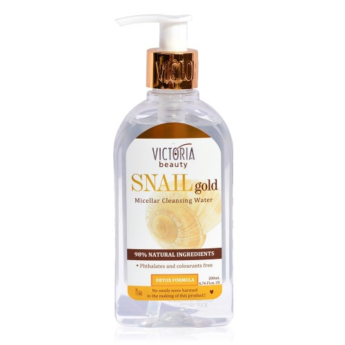 Snail Gold Micellar Cleansing Water with Snail Extract 200 ml