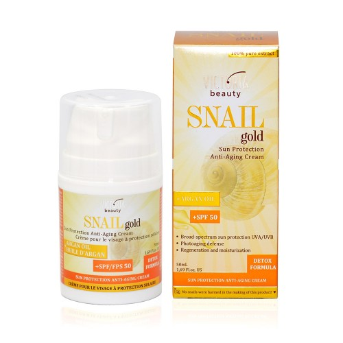 Snail Gold Sun Protection Anti-Aging Cream SPF 50