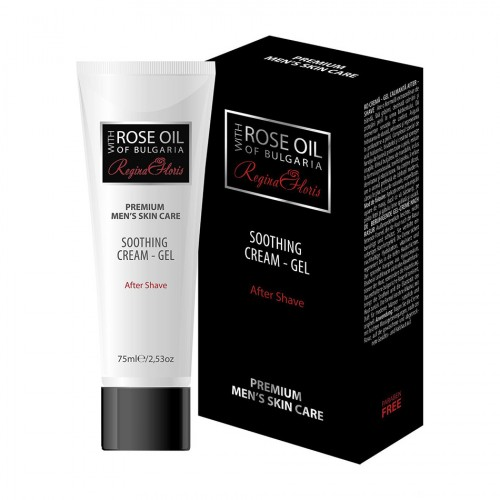 Soothing After shave cream-gel for Men Rose oil of Bulgaria