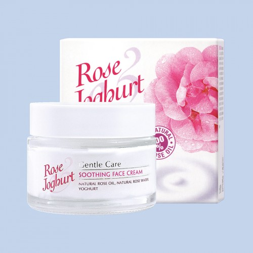 Soothing face cream Rose Joghurt