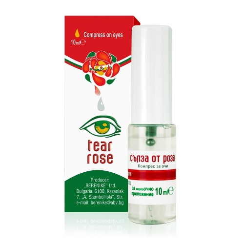 Rose water Eye Spray Tear Rose