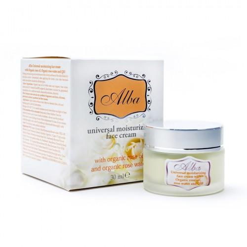 Universal moisturising face cream with Organic Rose oil & Rose water